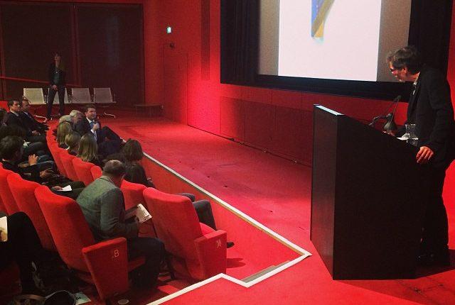 Richard Tuttle speaking at TATE