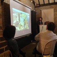 Presentation and overview of body of work by Ryan Holladay