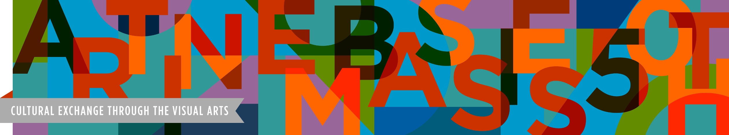 art in embassies 50th anniversary logo