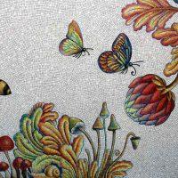 Andrea Dezso mural U.S. Embassy Bucharest