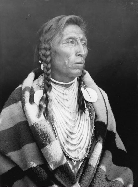 Chief Medicine Crow, 65 years, Crow Tribe Joseph Dixon, Chief Medicine Crow, 65 years, Crow Tribe, 1908, Archival pigment copy print from original photograph, Courtesy of the William Hammond Mathers Museum, Indiana University, and Art in Embassies, Washington, D.C.