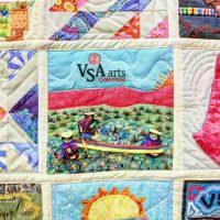 VSA quilt detail