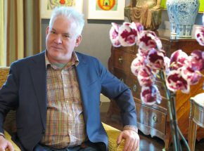 Philip Taaffe in Madrid
