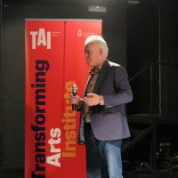 Philip Taaffe lectures in Madrid