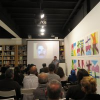 Catherine Opie and Philip Taaffe lectures in Madrid