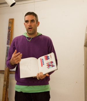 Jim Drain teaching at RISD