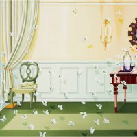 Kyung-Min Nam, Canvas Frame and Mirror, Oil on linen, Overall: 38 x 57 1/16in. (96.5 x 145cm), Courtesy of the artist, Gyeonggi-Do, Korea