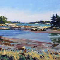 J. Thomas R. Higgins, 28 September pm, Oil on board, Overall: 16 x 20in. (40.6 x 50.8cm), Courtesy of the artist and Wiscasett Bay Gallery, Wiscasett, Maine