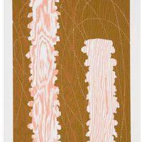 Marie Watt, Door, 2005, Woodblock print, Overall: 16 x 14in. (40.6 x 35.6cm),
