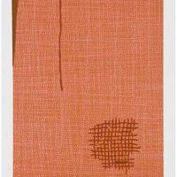 Marie Watt, Mend, 2005, Woodblock print, Overall: 16 x 14in. (40.6 x 35.6cm),
