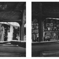 Vera Viditz Ward, Car Rapide Apprentice #1, Gelatin silver print, Overall: 22 x 48 x 3/4in. (55.9 x 121.9 x 1.9cm), diptych, Courtesy of the artist